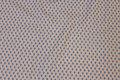 Sandfv. patchwork-bomuld med 6 mm dueblå hjerter.