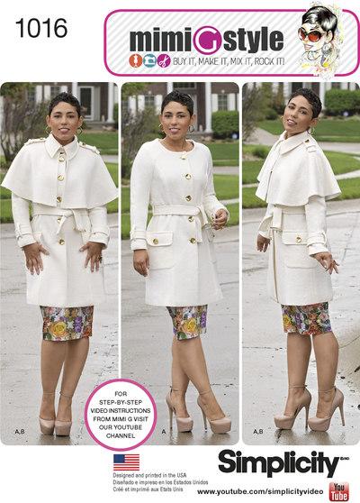 Frakke med slag, Mimi G style