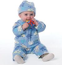 Småbørns jakke, overalls, bukser, hat. Butterick 6238.