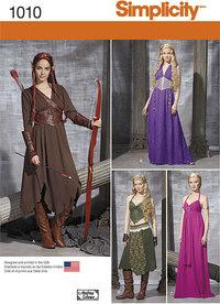 Fantasy kostumer. Simplicity 1010.