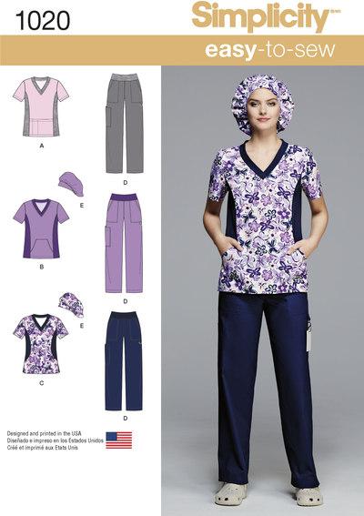 Scrubs eller joggingtøj inkl blusetop