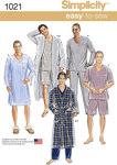 Pyjamas og morgenkåber