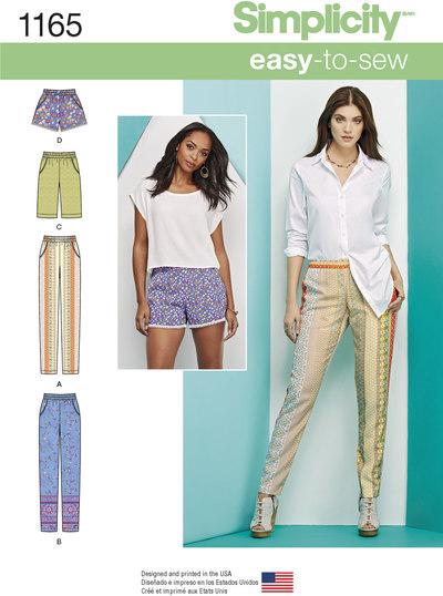 Short, knickers og lange bukser