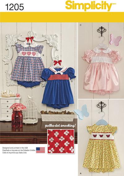 Kjoler og undertøj til småbørn