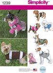 Hundefrakker i 3 størrelser