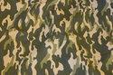 Babyfløjl i camouflagemønster