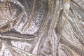Flot sølv-pailletstof med små, tætsiddende, påsyede minipailletter.