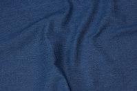 Klassisk mellemblå denim i ren bomuld