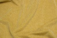 Let lurex-jersey i guldfarvet