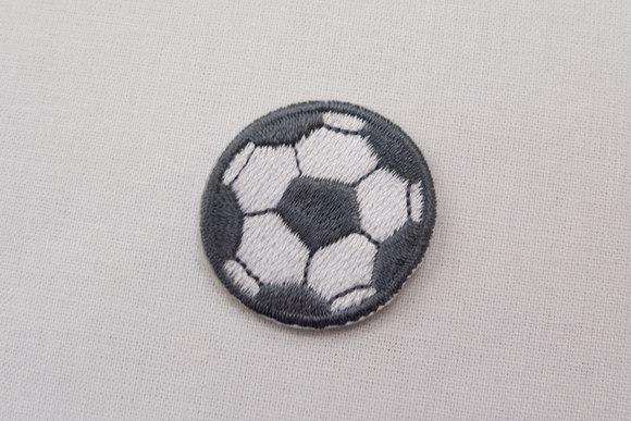 Lille fodbold grå 3cm