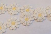 Marguerit bånd, 5 cm blomst