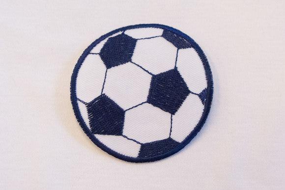 Marineblå fodbold 6,5cm
