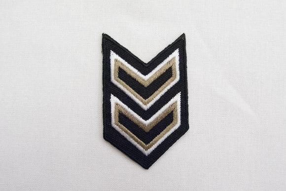 Militær motiv 4x6cm