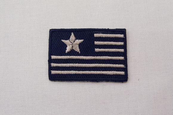 Signalflag strygemærke 2,5x4cm