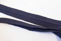Strikket foldebånd marine 3cm