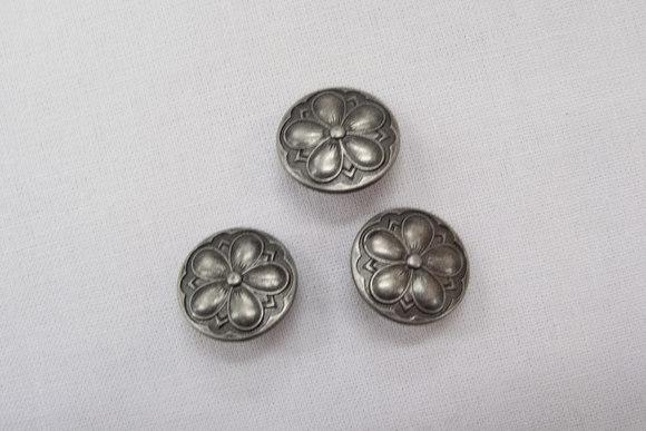 Tin-knapper blomst 1,5