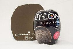 Dylon maskinfarve espresso brown