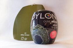Dylon maskinfarve olive green