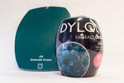 Dylon maskinfarve emerald green