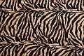 Zebra imiteret pels i sand og sort