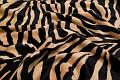 Zebra imiteret pels i sand og sort.