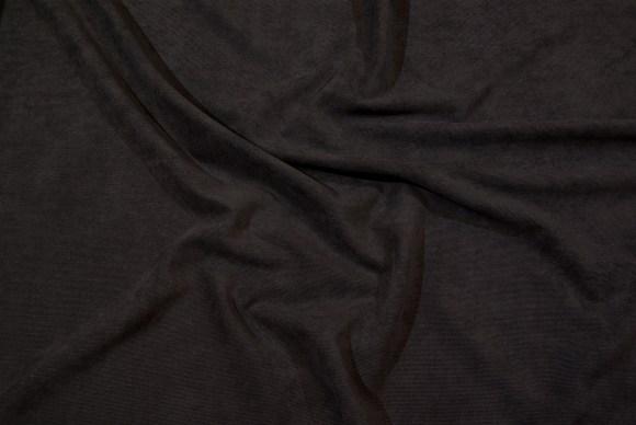 Marineblå babyfløjlvariant i polyester-spandex