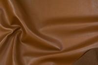 Imiteret skind i chocoladebrun