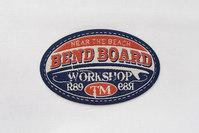 Bend board strygemærke 7x4cm