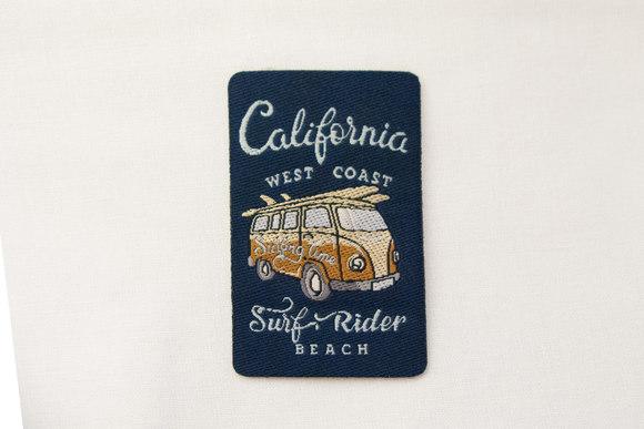 California surf rider strygemærke 6x4cm