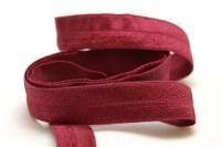 Elastik kantebånd - bordeaux 2 cm. br.