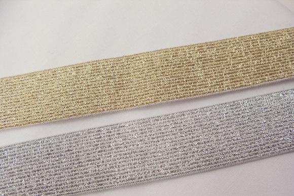 Guld elastik 3cm