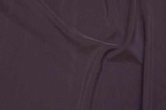 Jordbrunt, blødt kjolestof