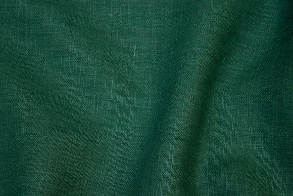 Flaskegrøn ren hør i flot kvalitet