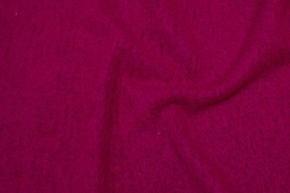 Kirsebærrød, filtet uld