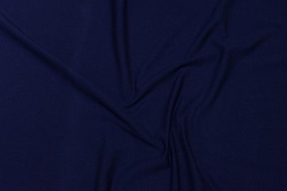 Marineblå bomuldsjersey