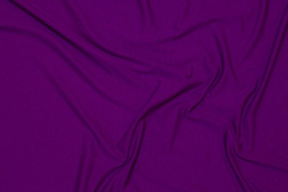 Mørk fuchia farvet viscosejersey