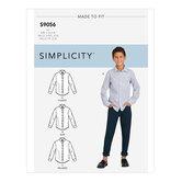 Bluser og skjorter til børn og drenge. Simplicity 9056.