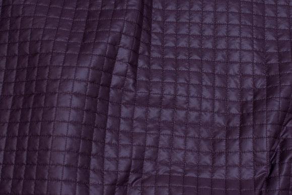Støvlilla quiltet foer