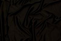 Stræksatin i sort