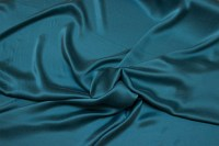 Støvet jadegrøn, superflot, sandvasket ren silke