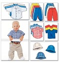 Butterick 5510. Skjorte, T-shirts, bukser, hat.