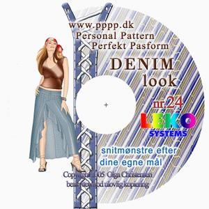 CD-rom nr. 24 - Denim look