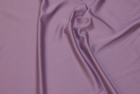 Mat micro-satin i støvrosa til kjoler