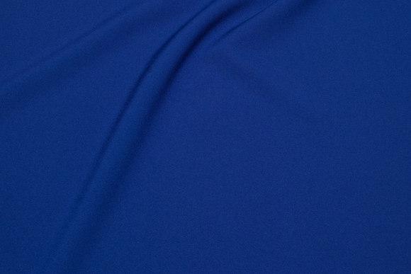 Polyester bi-stretch i lys marine
