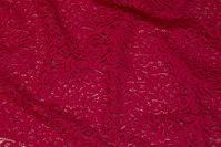 Rød blonde i bomuld og polyamid