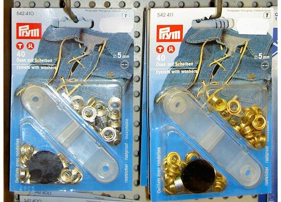 Sejlringe til markiser og læsejl, 5mm, rustfri