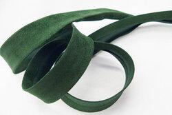 Ruskindslook skråbånd flaskegrøn 2,7cm