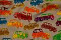 Bilerne er ca. 6 cm.