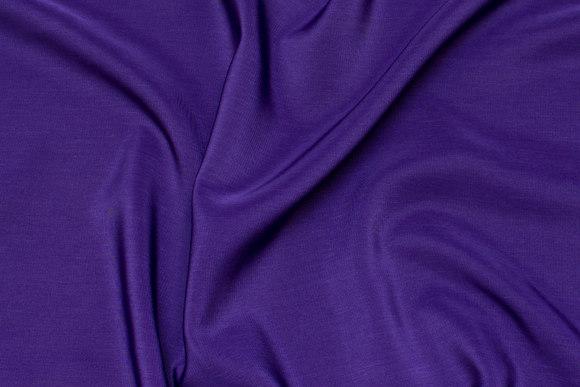 Micro silk-look i mørklilla
