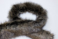 20 cm x 150 cm imiteret pelsstykke, ulvepels-lignende.